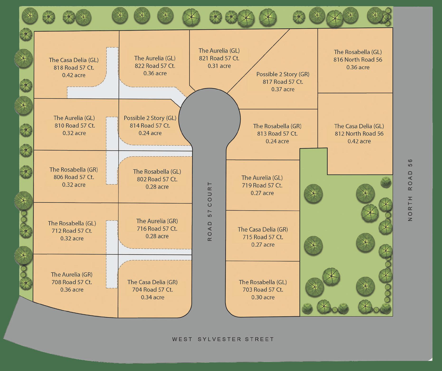 Map of Joel's neighborhood